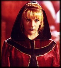 Renee O'Connor as the adult Hope