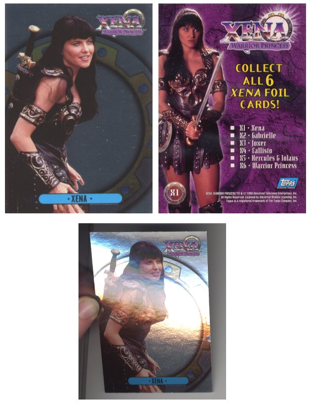 XENA WARRIOR PRINCESS SERIES 6 BUSTING LOOSE CARD BL3