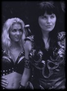 Callisto and Xena