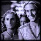 Young Iolaus and Hercules